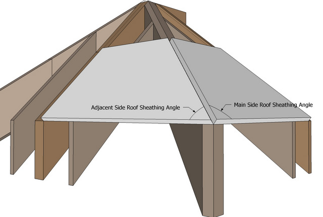 Roof Framing Geometry: Rafter Tools+ for iPhone Hip Rafter Angles ...