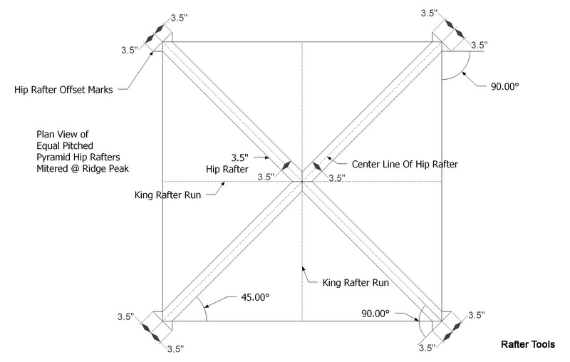 Rafter Tools For Android Apps Pryamid Hip Roof Rafters